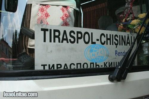 Bus-Tiraspol-Chisinau-Moldova